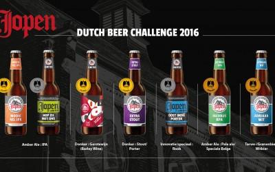 Jopen grote winnaar Dutch Beer Challenge